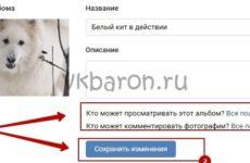 Скрываем фото в ВК от других пользователей