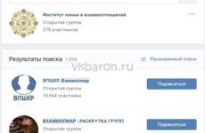 Что значит ВП в Вконтакте