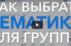 Какую тему выбрать для группы Вконтакте