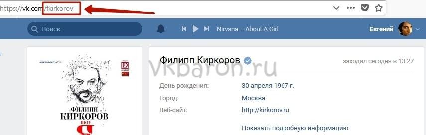 Как посмотреть скрытую страницу в ВКонтакте 0