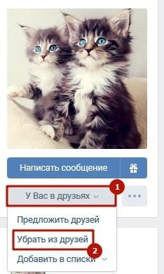 Как убрать человека из важных в ВКонтакте 3-min