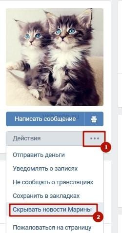 Как убрать человека из важных в ВКонтакте 6-min