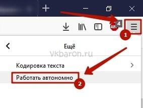 Как сидеть в ВКонтакте без интернета 1-min